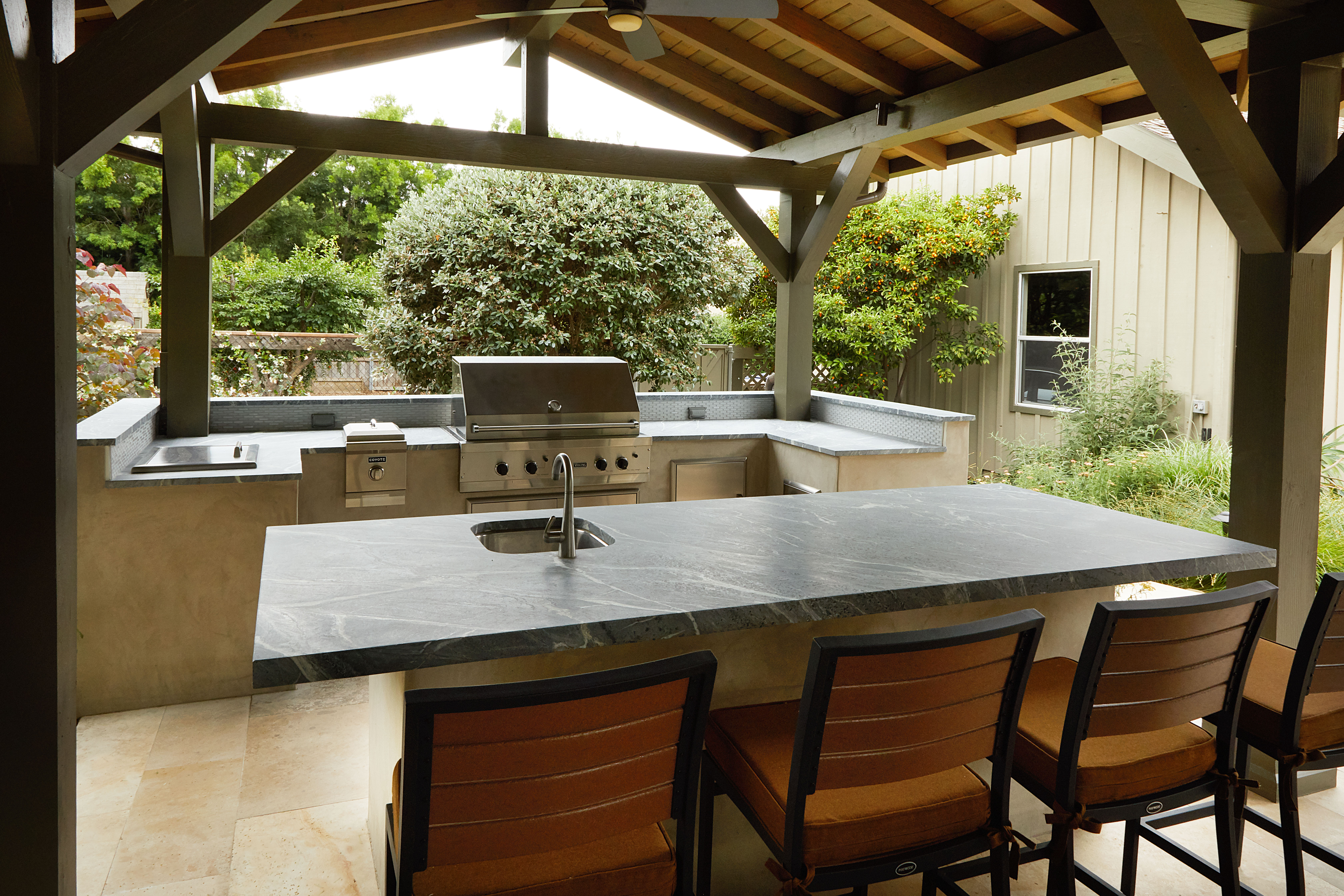 Outdoor Kitchen —